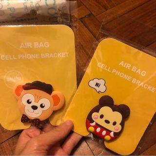 全新Disney米奇/Duffy手機Air Bag