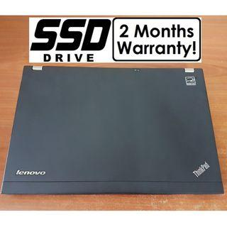 [Speedy SSD i5 Gen2 Laptop] Lenovo X220: Light-weighted! (Core i5 Notebook)