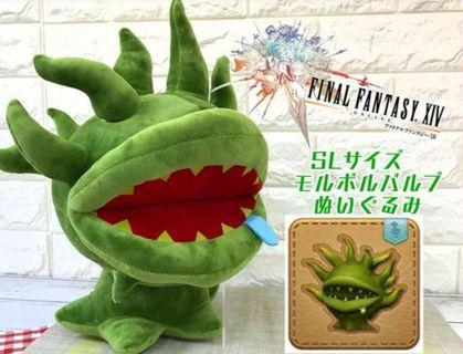 Final Fantasy XIV 食人花公仔。日本全新