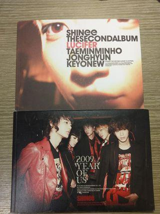 SHInee 專輯x2 2009 Year of us /Lucifer