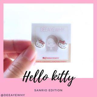 Hello Kitty Ear Studs