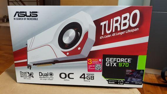 Asus GTX 970 4gb Turbo OC