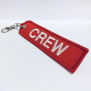 ✈️ CREW Remove before flight 機組人員行李牌鑰匙扣