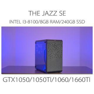 🚚 INTEL I3-8100 BASIC GAMING CUSTOM DESKTOP PC WITH GTX1050/1050TI/1060/1660TI(BUILD TO ORDER)