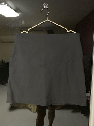 Mango Black Office Skirt