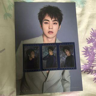 EXO Season Greetings 2019 DVD & Xiumin Poster