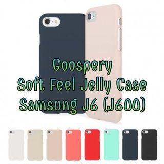Goospery Mercury Soft Feel Case for Samsung Galaxy J6 (J600)