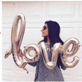 Love Balloon for Proposal Wedding
