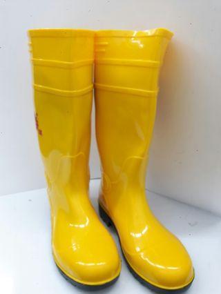 Yellow Pvc Boot / Steel Cap (HW)