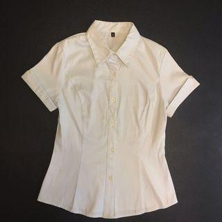 Light blue shortsleeved shirt