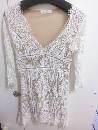 蕾絲風性感洋裝