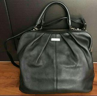 Authentic Kate Spade Five Points Camille Shoulder Black Bag