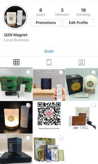 Follow us at Instagram.
