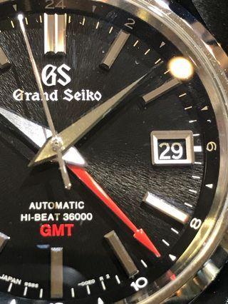Grand Seiko SBGJ203 GMT Hi-beat.