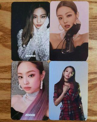 WTS JENNIE SQUARE UP PHOTOCARDS