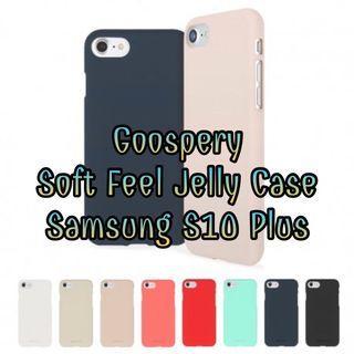Goospery Soft Feel Case for Samsung Galaxy S10 Plus