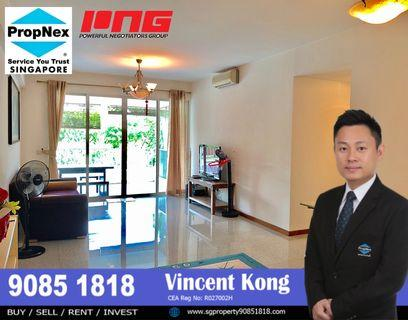 3+1 @ The Jade, 30 second to MRT, West Mall, Good location