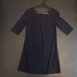 Zalora blue dress