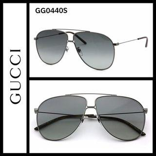 7c0a567c195 Gucci GG0440s aviator sunglasses