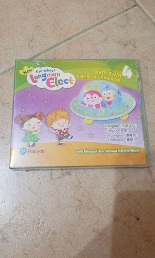 Pearson New Pre-school Longman Elect DVD-ROM 4