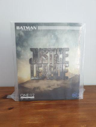 Mezco one 12 Justice League Batman Tactical Suit