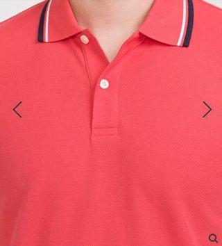 Bossini Men Polo Shirts Pink short sleeves 男裝粉紅色短袖Polo恤