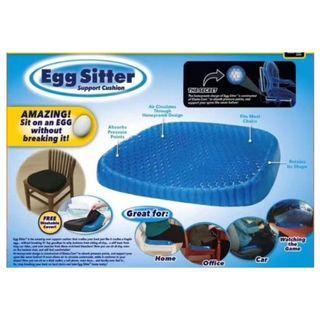 Egg Sitter水感凝膠坐墊 蜂狀網格 通風散熱涼爽 柔軟矽膠可吸收久坐壓力 (現貨預購.)高品質 超熱銷.發貨快