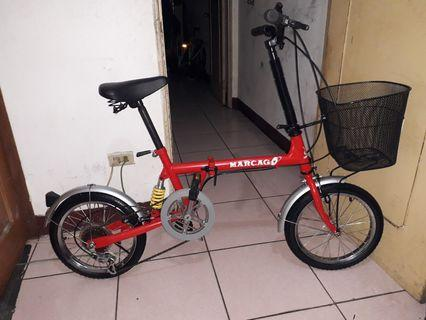 folded bicycle