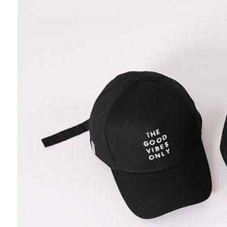 Baseball Cap in Black