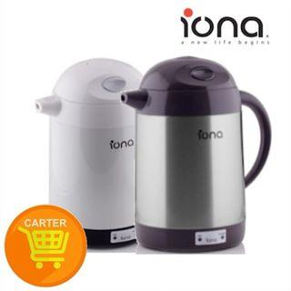 Iona 1.5L Electric Kettle Black