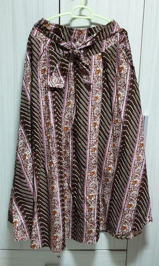 🆕️ BN Flare A-Line Batik Skirt