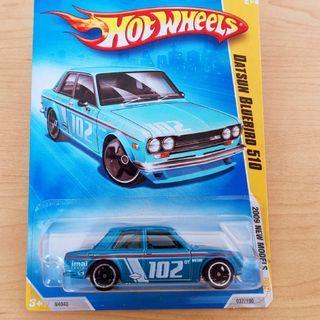 Hot Wheels BLUEBIRD 510 BLUE JDM Free Poslaju