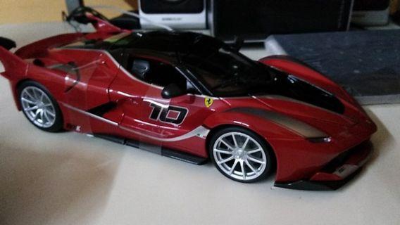 Bburago Ferrari FXXK 1/18 (RED)