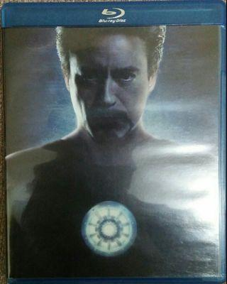 Blu Ray Iron Man Ultimate Edition.