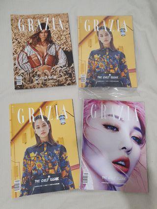 4x Grazia magazines