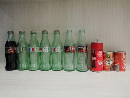 🚚 Late 20th century Coke bottles