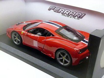 Bburago Ferrari 458 Speciale Scale Model 1:18