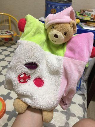 🚚 Kaloo安撫玩具,大人也可以套著跟小孩互動