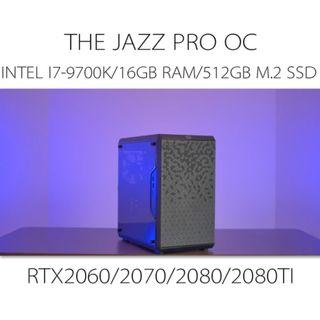 INTEL I7-9700K LIQUIDCOOLING EXTREME GAMING CUSTOM DEKSTOP PC SYSTEM powered by RTX2060/2070/2080/2080ti(build to order)