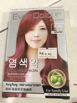 Hair Colour Cream