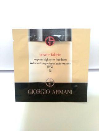 🚚 亞曼尼 ARMANI 完美絲絨水慕斯粉底 色號3.5 SPF25 1ml Giorgio Armani