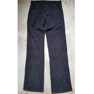 "Bossini New Corduroy pants. 32"" Smoky Blue."