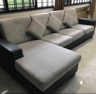 🚚 *NEGOTIABLE* L Shaped Sofa #endgameyourexcess