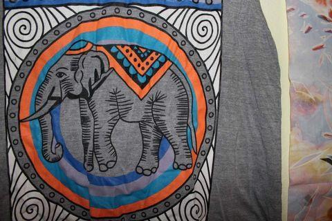 Elephant Muscle Tee
