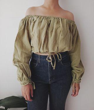 Thrift Pale Green Sabrina