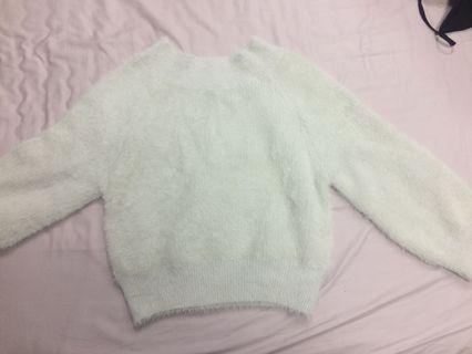 🚚 [冬天出清]韓版毛毛上衣