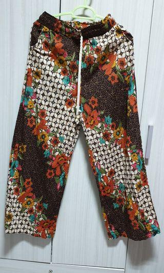 Batik Pallazo Pants