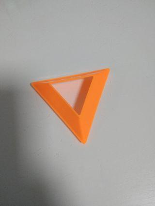 Rubix cube stand