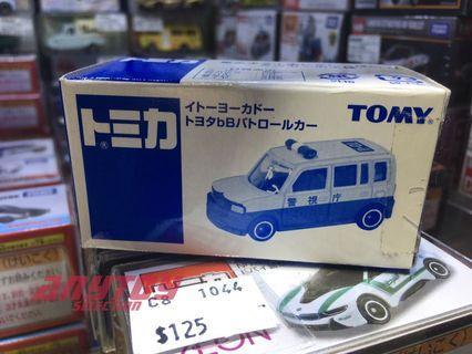 Tomica Itoyokada 伊藤洋華堂特注 Toyota BB Patrol Car