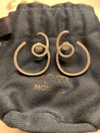 Apm Monaco Denim series 925 Silver Earring (Limited Edition)